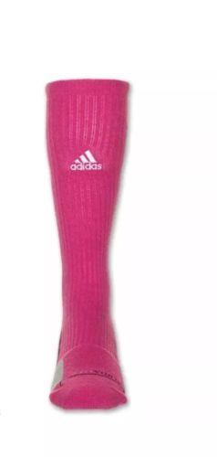 hot sales d18d5 6167b ADIDAS Team Speed Basketball Crew Socks sz L Large (9.5-12) Pink Black