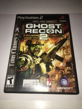 Tom Clancy's Ghost Recon 2 (Playstation 2, 2004) PS2Complete In Box - $19.99