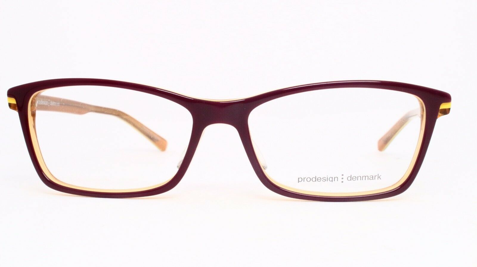 NEW PRODESIGN DENMARK 1759 1 c.3732 PLUM EYEGLASSES FRAME 55-15-140 MK358 Japan image 2