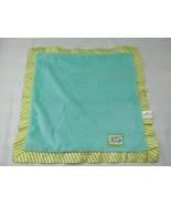 Hallmark Sweet Pea Lovey Green Security Blanket - $9.86
