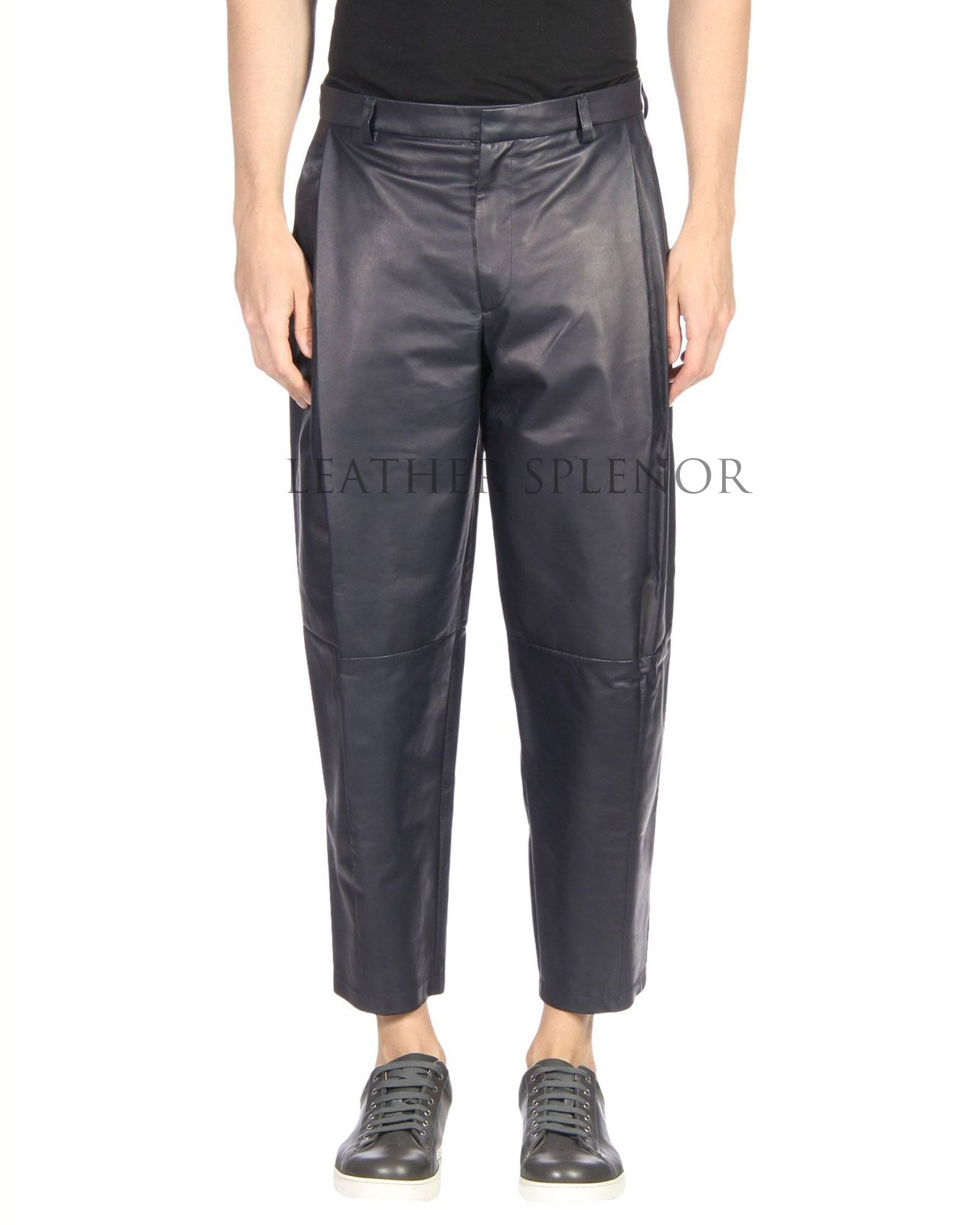 STANDARD STYLE MEN LEATHER PANTS