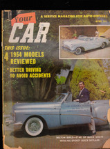 Your Car Magazine Milton Berle Buick Skylark 1954 Models April 1954 - $10.06