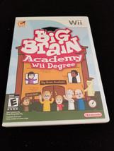 Big Brain Academy Wii Degree (Wii, 2007) Complete - $11.95