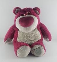 "Disney Store Original Lotso Huggin Bear Toy Story 3 Soft Plush 14"" Straw... - $18.49"