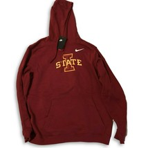 NWT New Iowa State Cyclones Nike Logo Club Fleece Pullover XXL Hooded Sw... - $54.40