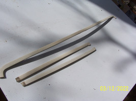 1991 GRAND MARQUIS 3 pcs REAR BACK WINDOW TRIM MOLDING OEM USED 1990 198... - $150.63