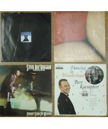 Record Album Qty 4 Steven Ray Vaughan Bert Kaempfert Three little Words ... - $18.36