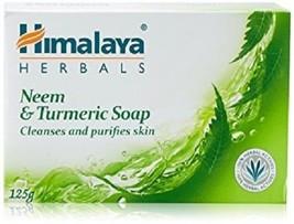 2x himalaya Neem & Turmeric Soap Stay protected 125gms  - $15.83