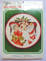 Mrs. Claus Hanging Stockings Christmas NEW Counted Cross Stitch Kit 7 in... - $16.99