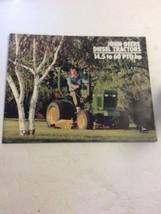 John Deere Diesel Tractors 14.5 to 60 PTO HP Vintage Dealer sales brochure - $16.60