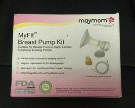 MYFIT BREAST PUMP KIT BY MAYMOM IN BOX :B19-24 - $14.85