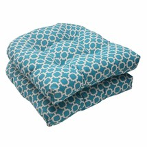 Patio Chair Cushion Set Of 2 Lawn Furniture Outdoor Seat Pillow Replacem... - £65.33 GBP