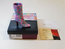 Just The Right Shoe by Raine Originals Perfectly Python Boot Item #25151... - $21.77