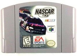Nascar 1999 N64 Racing Cartridge Only Tested and Working - $6.88