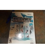 Wii Winter Sports the Ultimate Challenge Game - $14.99