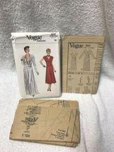 Vogue 9259 Misses Evening Dress Vintage Sewing Pattern image 9
