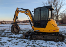 2014 JCB 8065 RTS For Sale In Sciota, Illinois 61475 image 5