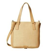 New Fossil Women's Preston Shopper Tote Bag, Beige #ZB6488 - $168.29