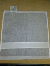 "UGG®  washcloth  Towel in Gray 12"" X 12"" new with out tags.  image 5"
