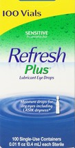 Allergan Refresh Plus Lubricant Eye Drops Single-Use Vials - 100 ct - $32.27