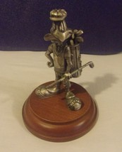 Extremely Rare! Looney Tunes Daffy Duck Golfing Figurine Statue - $178.50