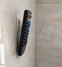 Excelity Set of 4 Remote Controller Wall Hook Holder with Self Adhesive image 5