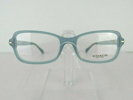 Coach HC 6055 Laurel (5252) MILKY CHAMBRAY 52 X 17 135 mm Eyeglass Frame - $54.40