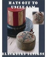 Hat's Off To Uncle Sam patriotic cross stitch c... - $8.10