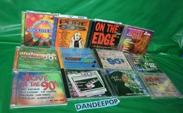 14 Assorted Music CD's Alive In The 90's Alternative Hits Dance Unstoppable - $79.19