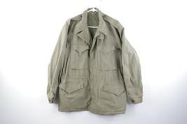 Vintage 40s World War II WWII M-43 Field Jacket Mens Size 38R Army Green USA - $247.45