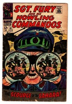 Sgt. Fury And His Howling Commandos #43-comic Book Rommel Cvr? Vg - $18.92