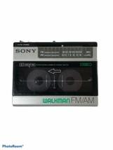 Sony Walkman WM-F15 FM/AM Stereo Cassette Player No Batt Cover Tape Not ... - $64.35
