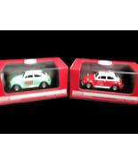 Coca-Cola Set of 2 1966 Volkswagen Beetle 1:43 Scale  - BRAND NEW - $49.01