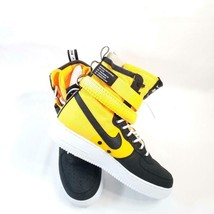 Nike SF Air Force 1 High 'Laser Orange' Sneaker 864024 800 NIB - $80.97