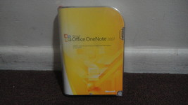 Microsoft Office OneNote 2007 Full Retail Version PN S26-01965 Product K... - $25.70