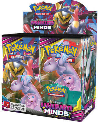 Pokemon TCG Sun & Moon Unified Minds + Cirmson Invasion Booster Box Bundle image 2
