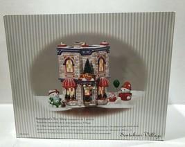Dept 56 Santa Bear Village Santabear's Toy Shop #05825 Christmas Set Light Cord - $42.08