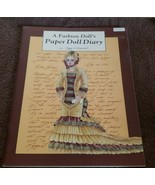 Vintage Peggy Jo Rosamond A Fashion Doll's Paper Doll Diary Stylish Pape... - $14.70