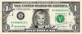 AMY POEHLER - Real Dollar Bill Cash Money Collectible Memorabilia Celebr... - $7.77