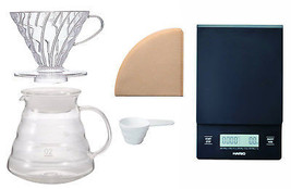 Hario V60 Scale and Brewing Set - For Careful Measuring and Coffee Brewing - $88.10