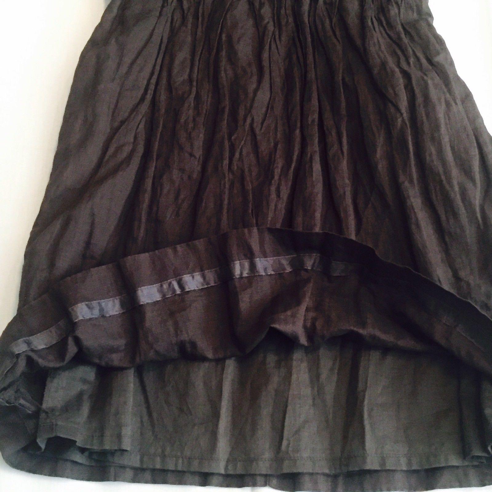 J. Crew Taryan Dress Brown Size 2 Strapless Empire Waist