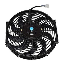 """A-Team Performance 170071 12"""" Radiator Electric Cooling Fan Car Transmission Coo image 3"""