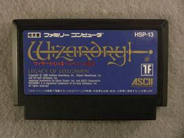 Wizardry: Legacy of Llylgamyn (Nintendo Famicom FC NES, 1989) Japan Import - $7.86