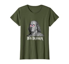 Brother Shirts - 4th of July Ben Drankin Funny Novelty Tshirt Wowen - $19.95
