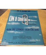 Vtg Sheet Music On A Clear Day You Can See Forever Lerner/Lane - $4.99