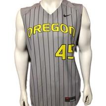 NIKE Men New Oregon Ducks Sleeveless Jersey Vest Pullover Baseball Game ... - $53.46