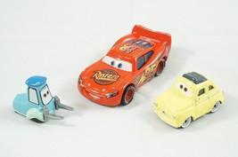 Disney Pixar Cars Diecast Lightning McQueen Set McQueen Luigi Guido Metal - $14.03