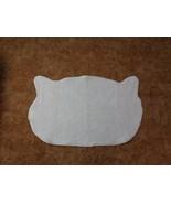 Cat Lady (new) Bathroom Rug / White  Cat - $28.67
