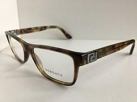 New Versace Mod. 1132 4351 53mm Havana Marble Eyeglasses Frame Italy #8 - $129.99