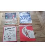 Vintage Sheet Music, Rudolph Red Nose Reindeer, Kiddie's Christmas, plus... - $14.89